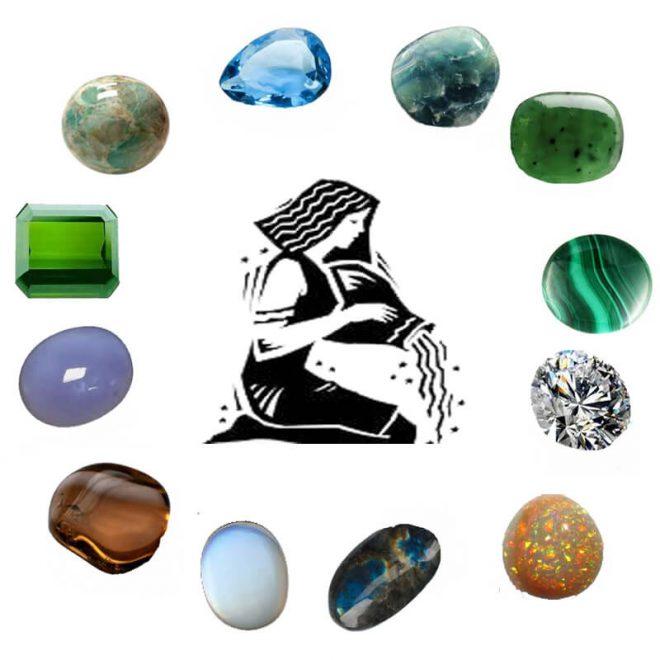 gemstone for aquarius