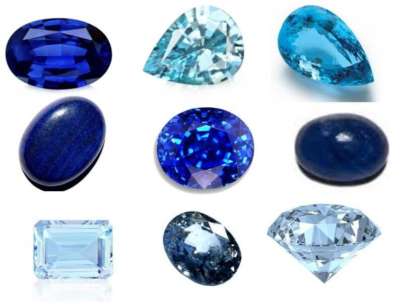 Blue Natural Stone Names