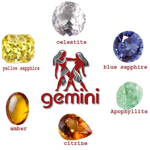 Gemstone For Gemini List