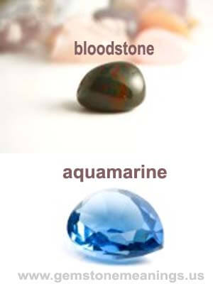 birthstone for march