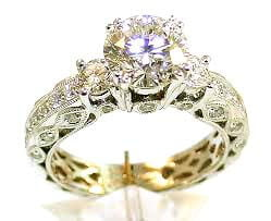 diamond birthstone ring