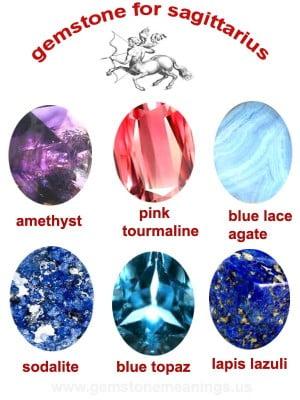 gemstone for sagittarius